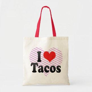 I Love Tacos Tote Bag