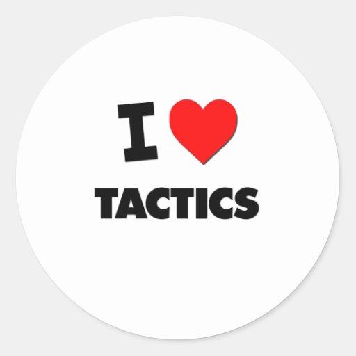I love Tactics Sticker