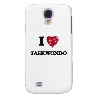 I Love Taekwondo Galaxy S4 Covers