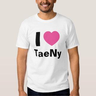 I Love TaeNy T Shirt