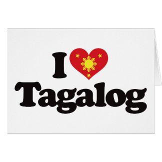 I Love Tagalog Cards