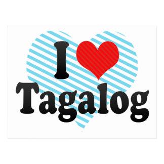 I Love Tagalog Post Cards