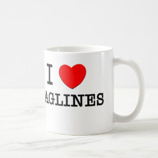 I Love Taglines Classic White Coffee Mug