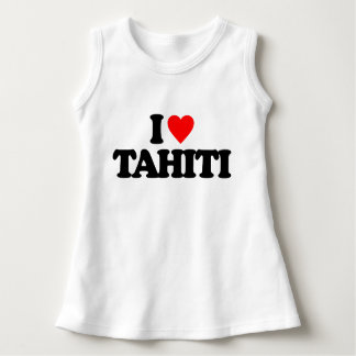 I LOVE TAHITI DRESS