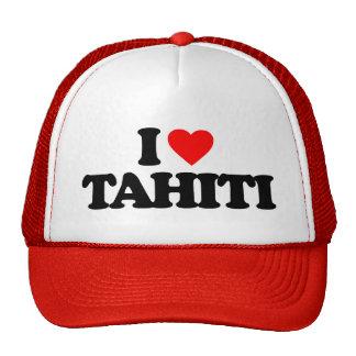 I LOVE TAHITI TRUCKER HAT