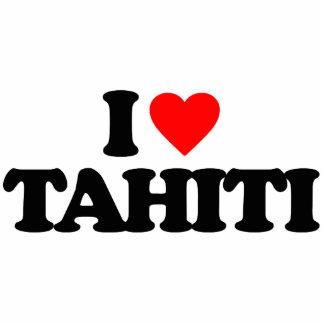 I LOVE TAHITI CUT OUTS
