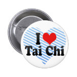 I Love Tai Chi Buttons