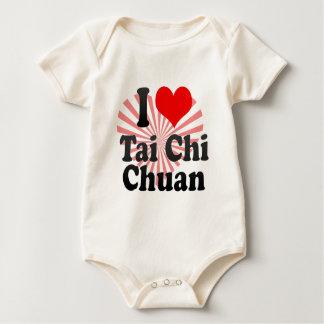 I love Tai Chi Chuan Baby Bodysuit