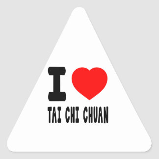 I Love Tai Chi Chuan Stickers