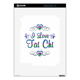I Love Tai Chi Decals For iPad 2