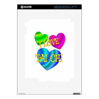 I Love Tai Chi iPad 3 Decals