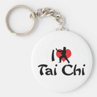 I Love Tai Chi Keychain