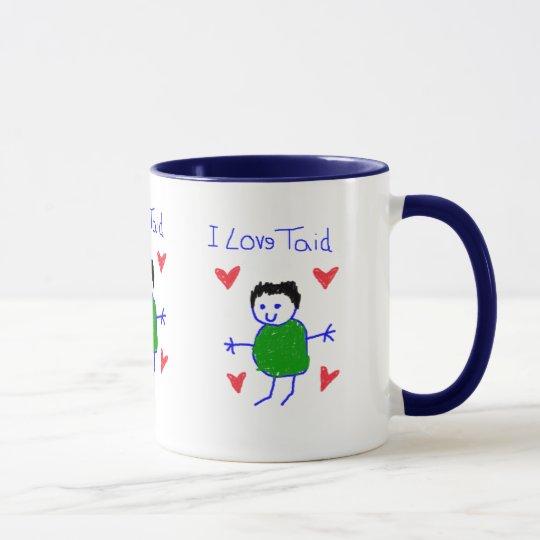 I Love Taid Mug