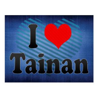 I Love Tainan, Taiwan Postcard