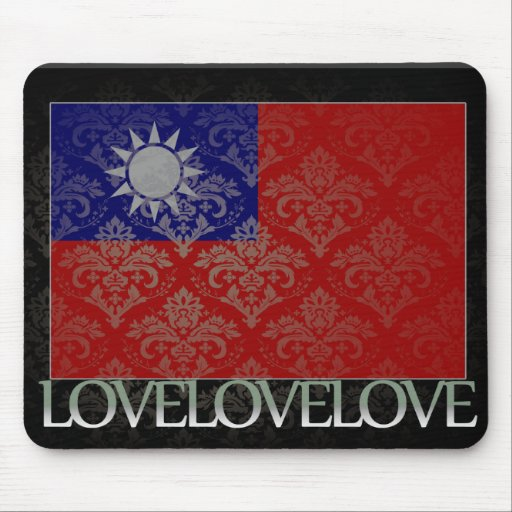 I love Taiwan Cool Mouse Pads