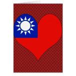 I Love Taiwan Greeting Card
