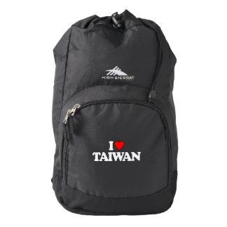 I LOVE TAIWAN HIGH SIERRA BACKPACK