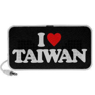 I LOVE TAIWAN PORTABLE SPEAKERS