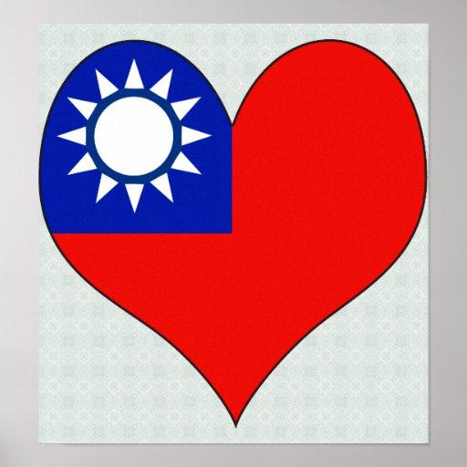 I Love Taiwan Print