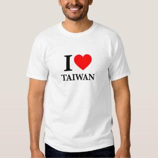 I Love Taiwan Tee Shirt
