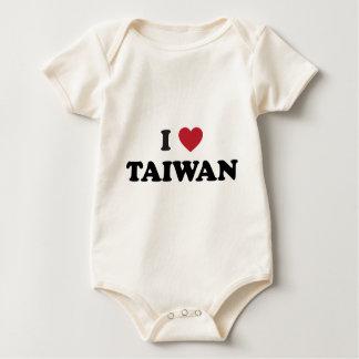 I Love Taiwan Baby Creeper