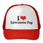I Love Taiwanese Pop Hat