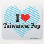I Love Taiwanese Pop Mouse Pad