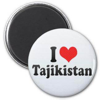 I Love Tajikistan Fridge Magnet