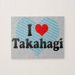 I Love Takahagi, Japan. Aisuru Takahagi, Japan Jigsaw Puzzle