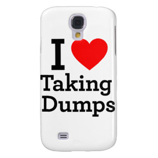 I Love Taking Dumps Galaxy S4 Cover