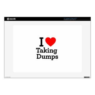 I Love Taking Dumps Laptop Skin