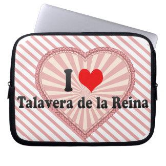I Love Talavera de la Reina, Spain Computer Sleeves