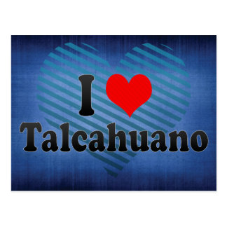 I Love Talcahuano, Chile Postcard