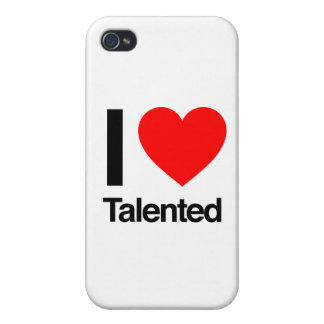 i love talented cases for iPhone 4
