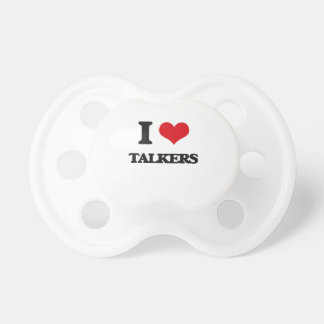 I love Talkers BooginHead Pacifier