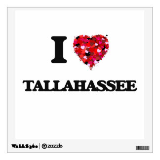 I love Tallahassee Florida Room Decal