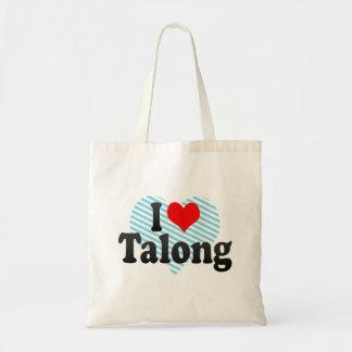 I love Talong Tote Bag