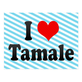 I Love Tamale, Ghana Postcard