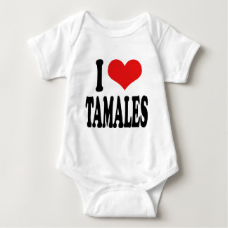 I Love Tamales Baby Bodysuit