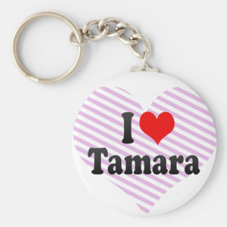 I love Tamara Keychain
