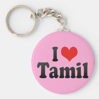 I Love Tamil Keychain