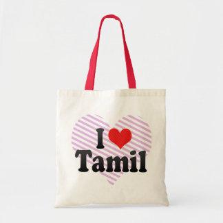 I Love Tamil Tote Bag