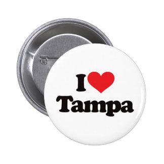 I Love Tampa Pins
