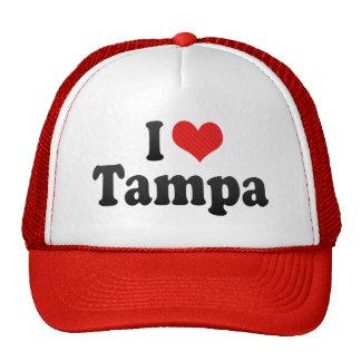 I Love Tampa Mesh Hats