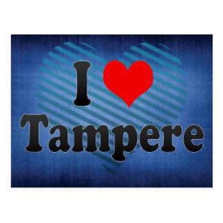 I Love Tampere, Finland Postcard