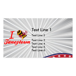 I Love Taneytown, Maryland Double-Sided Standard Business Cards (Pack Of 100)