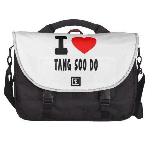 I Love Tang Soo do Laptop Computer Bag