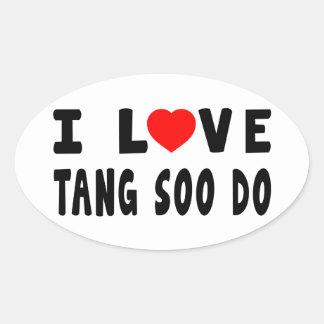 I Love Tang Soo do Martial Arts Sticker