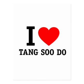 I Love Tang Soo Do Post Cards