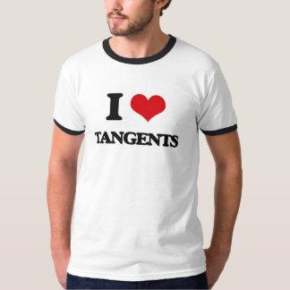 I love Tangents Tee Shirts